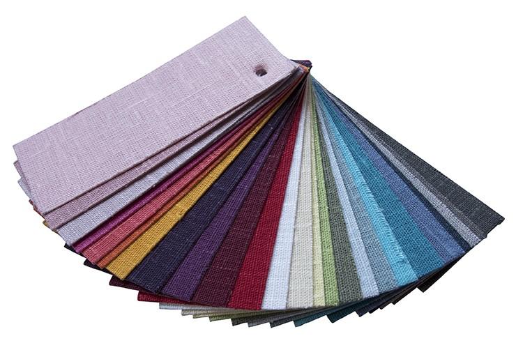 Farbfächer Leinen