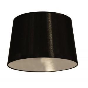 Lampenschirm Black is Beautiful silver - schirmo.de