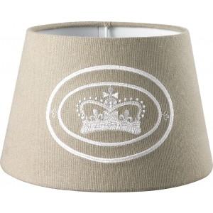 Lampenschirm rund Crown Kensington Ansicht vorne