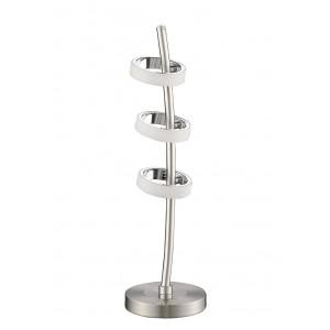 Tischleuchte Futura Nickel LED - 275680 - schirmo.de