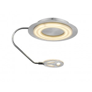 Deckenleuchte Stratos Nickel LED - schirmo.de