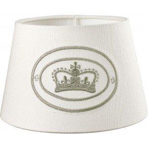 Lampenschirm rund Crown London Ansicht vorne